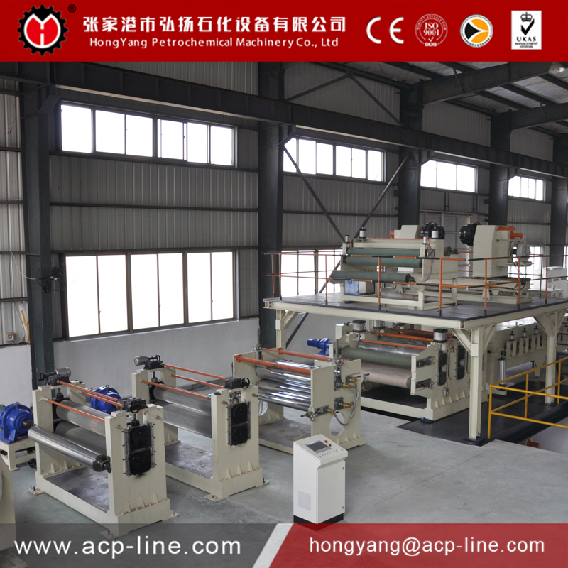 High Quality and New technology FR Aluminum Corrugated Composite Panel Production Line