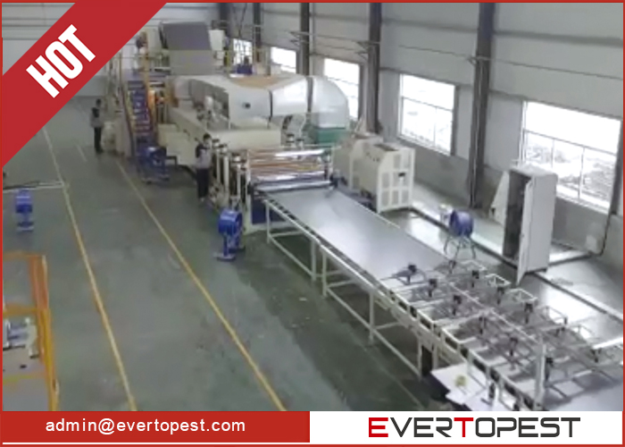 High Quality Fire resistant Aluminum Corrugated Composite Panel Production Line